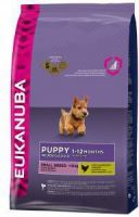 - Eukanuba Puppy & junior Smallbreed kip Hondenvoer 2 x 15 kg