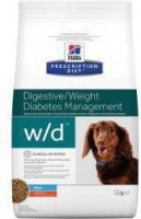 - Hill's Prescription Diet Hond W/D Mini hondenvoer 3 x 6 kg