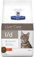- Hill's Prescription Diet L/D kattenvoer 3 x 1, 5 kg