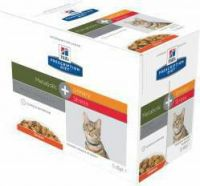 - Hill's Prescription Diet Metabolic + Urinary Stress Pouch 85 gr kattenvoer 4 x 12 zakjes
