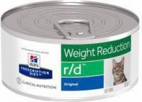 - Hill's Prescription Diet R/D blik 156 gr kattenvoer 2 trays(48 blikken )