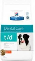 - Hill's Prescription Diet T/D hondenvoer 10 kg