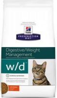- Hill's Prescription Diet W/D kattenvoer 2 x 5kg