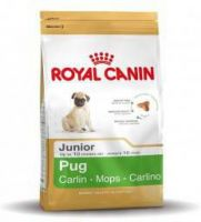Royal Canin Breed - Royal Canin Pug(mopshond)junior hondenvoer 6 x 1, 5 kg