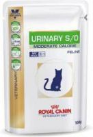 Royal Canin Veterinary Diet - Royal Canin Urinary Moderate Calorie Vis zakjes kattenvoer 4 x 12 zakjes