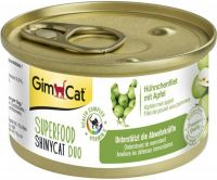 - Gimcat Superfood Shinycat Duo 70 g Kipfilet&Appel - Kattenvoer