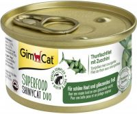 - Gimcat Superfood Shinycat Duo 70 g Tonijnfilet&Courgette - Kattenvoer