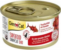 - Gimcat Superfood Shinycat Duo 70 g Tonijnfilet&Tomaat - Kattenvoer