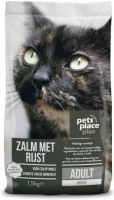- Pets Place Plus Kat Adult Indoor Zalm 1.5 kg - Kattenvoer