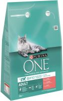 - Purina One Adult Zalm&Granen 3 kg - Kattenvoer