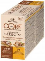 - Wellness Core Signature Selects Shredded Multi - Pack Mix 8x79 g - Kattenvoer