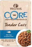 - Wellness Core Tender Cuts 85 g Tonijn - Kattenvoer
